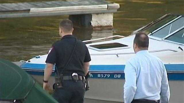 The body of a man is pulled from the Allegheny River at Springdale Marina.