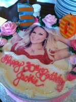#12 - AND Jackie's girlfriends even got her a Carrie Underwood cake for her 30th birthday.