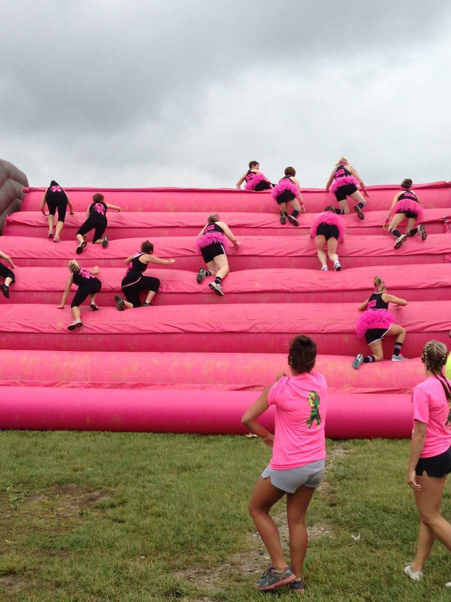 The Dirty Girl Mud Run, the original women-only national mud run series, was held at the Fayette County Fairgrounds.