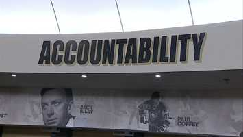 """Words like """"passion"""" and """"accountability"""" hover above the players in the locker room, but the one that seems to be most spoken these days is """"disappointment."""""""