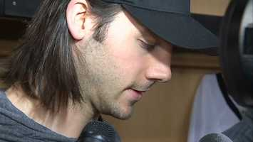 """Kris Letang: """"Obviously, it's not the right time, but it's always a sad moment for all the guys, especially that you might not see all the same faces coming into next season. It's not a really great vision."""""""