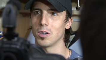 """Marc-Andre Fleury: """"I don't want to go anywhere else. I like the guys in the room here and I feel like every year we have a chance at (a Stanley Cup)."""""""