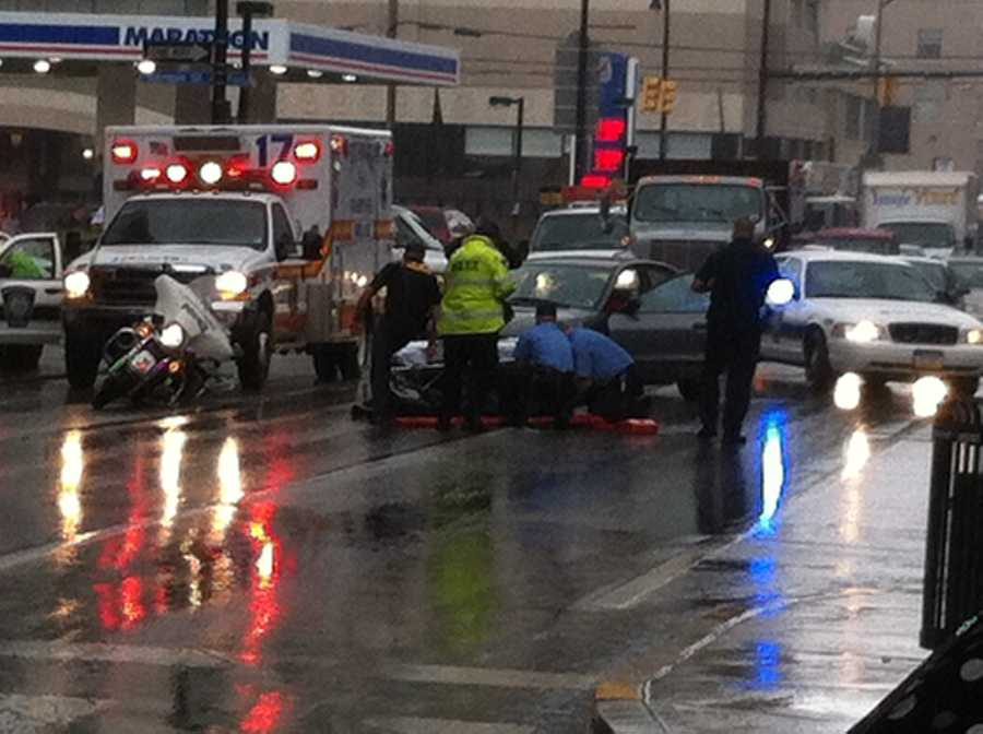 Another police officer at the accident scene said the injuries were not believed to be serious.