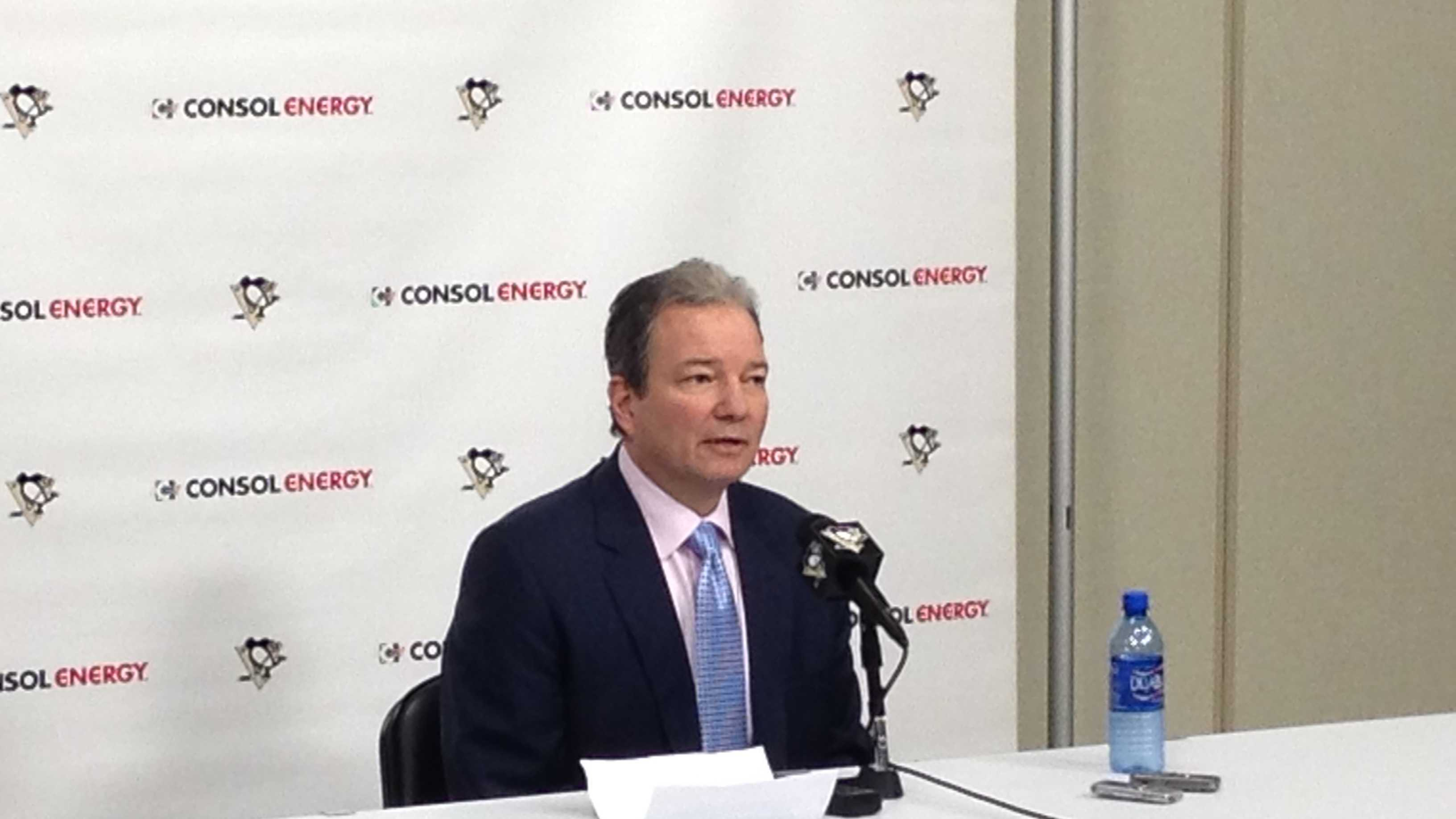 Pittsburgh Penguins General Manager Ray Shero announces 2 year contract extension for Bylsma