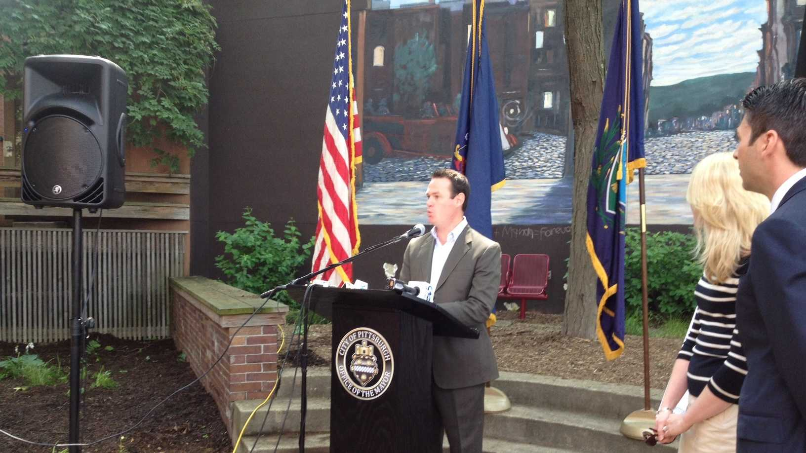 Mayor Luke Ravenstahl