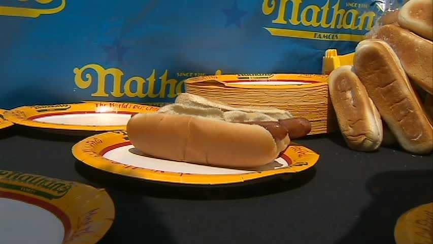 The top male and top female finishers from each qualifier will earn a trip to compete at the ESPN televised finals at the original Nathan's Famous in Coney Island on July Fourth.