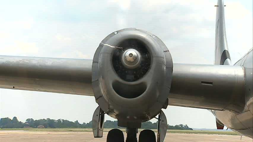 It was designed as a replacement for the older B-17s and B-24s, with longer range and greater bomb loads.