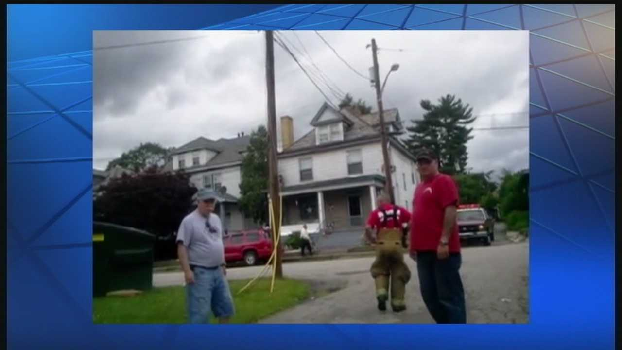 img-Uniontown resident records expletive-filled confrontation with city fire chief