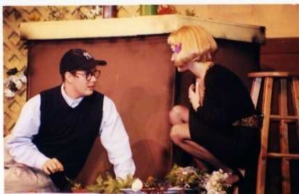 While in high school, Matt performed in a number of musicals. His favorite role was this one, where he played Seymour in Little Shop of Horrors.