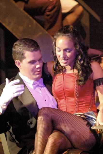 Matt still loves to sing. More recently, he's on the left in this picture, performing in a community theater production of Jekyll & Hyde with one of his good friends, Amanda Perko.
