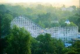 Matt's favorite theme park is Hershey Park (because that's where his family went when he was little!) His favorite ride is one of the park's oldest roller coasters, the Comet.
