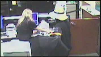The FBI says this man robbed the bank inside Giant Eagle in South Strabane Township.