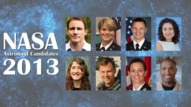 NASA 2013 astronaut candidates