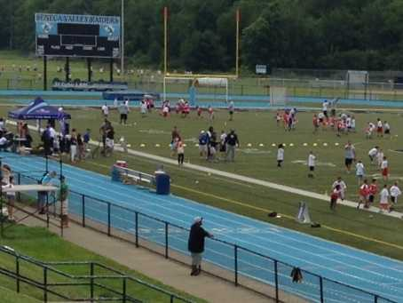 Steelers quarterback Ben Roethlisberger hosted his annual youth football camp at Seneca Valley High School this week.