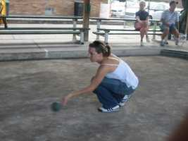 Ashley grew up playing bocce at the IMBS Club in Koppel.