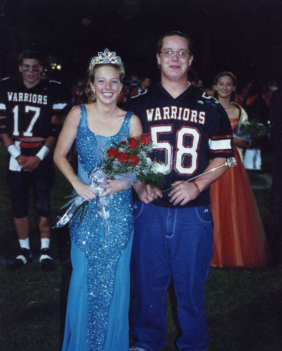She was crowned homecoming queen and finished in the top 10 in the Pennsylvania Scholarship Pageant.