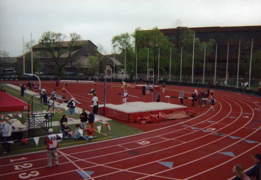 Ashley was also one of the first female pole vaulters at Mohawk.