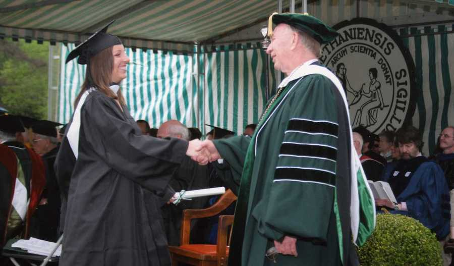After graduating high school, Ashley attended Bethany College in West Virginia.