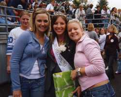 She would again don the tiara as Bethany's homecoming queen.