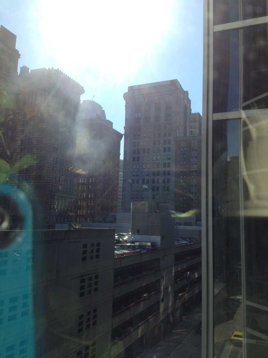 This photo was shared on u local by a downtown witness. Send your breaking news photos to ulocal@wtae.com anytime.
