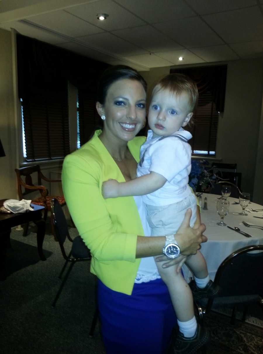 She says her proudest moment was being asked to be the godmother of of her nephew, Bryce James.