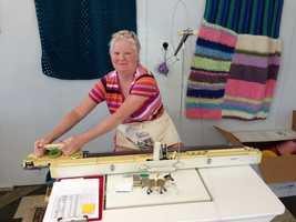 The Knit the Bridge installation will happen the weekend of Aug. 10. The bridge will be closed then. The knitted panels will stay up for four weeks.
