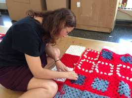 More volunteers are needed for Knit the Bridge.