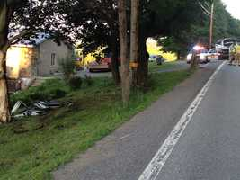 Two other children were injured when the van crossed the center line of Route 173 in Brady Township, near Duffy Road, before going airborne and crashing into a tree.