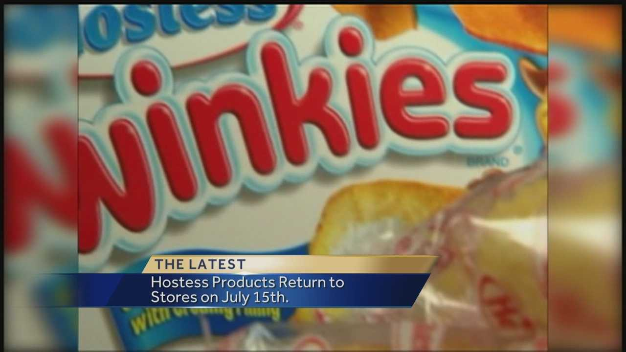 Twinkies as well as several other tasty sweet treats are only a few weeks away from returning to stores.