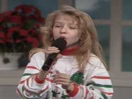 """Plenty of celebrities are from Pittsburgh, such as Christina Aguilera (pictured here at age 11), Demi Moore, Jeff Goldblum, Dennis Miller, Wiz Khalifa, Michael Keaton, Andy Warhol and Gene Kelly.Video: Christina Aguilera sings """"Silent Night"""" at WTAE (Christmas Eve, 1991)"""