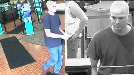 Penn Hills bank robbery splitscreen