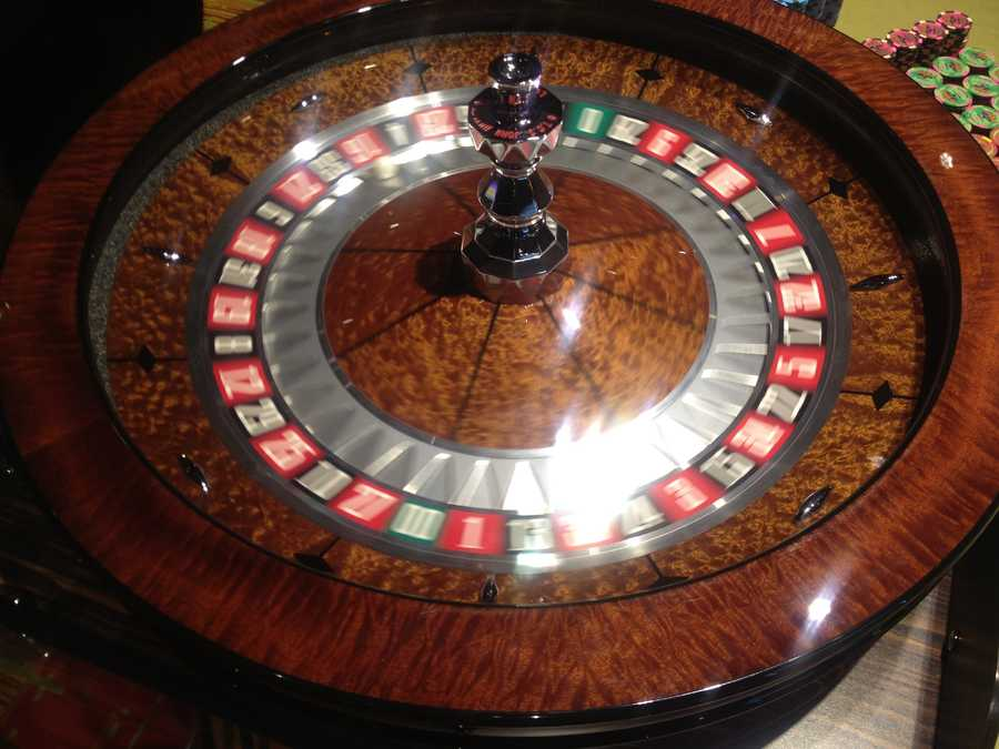 Gamblers can try their luck at roulette, craps, poker and blackjack.