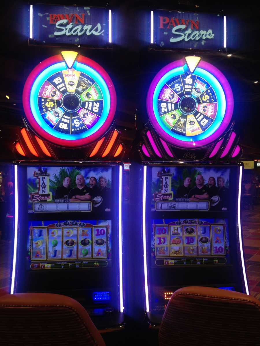 "Some of the slots are inspired by History Channel's hit reality TV show ""Pawn Stars."""
