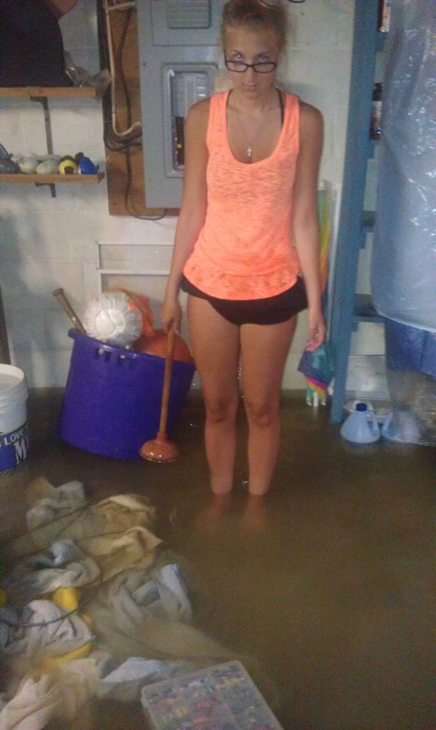 Photos sent in from the flooding in DuBois, PA (Jefferson County).