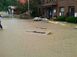 Acme machine offices flooding