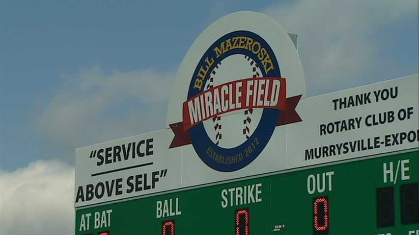 The camp was held at the Bill Mazeroski Miracle League Field in Murrysville Community Park.