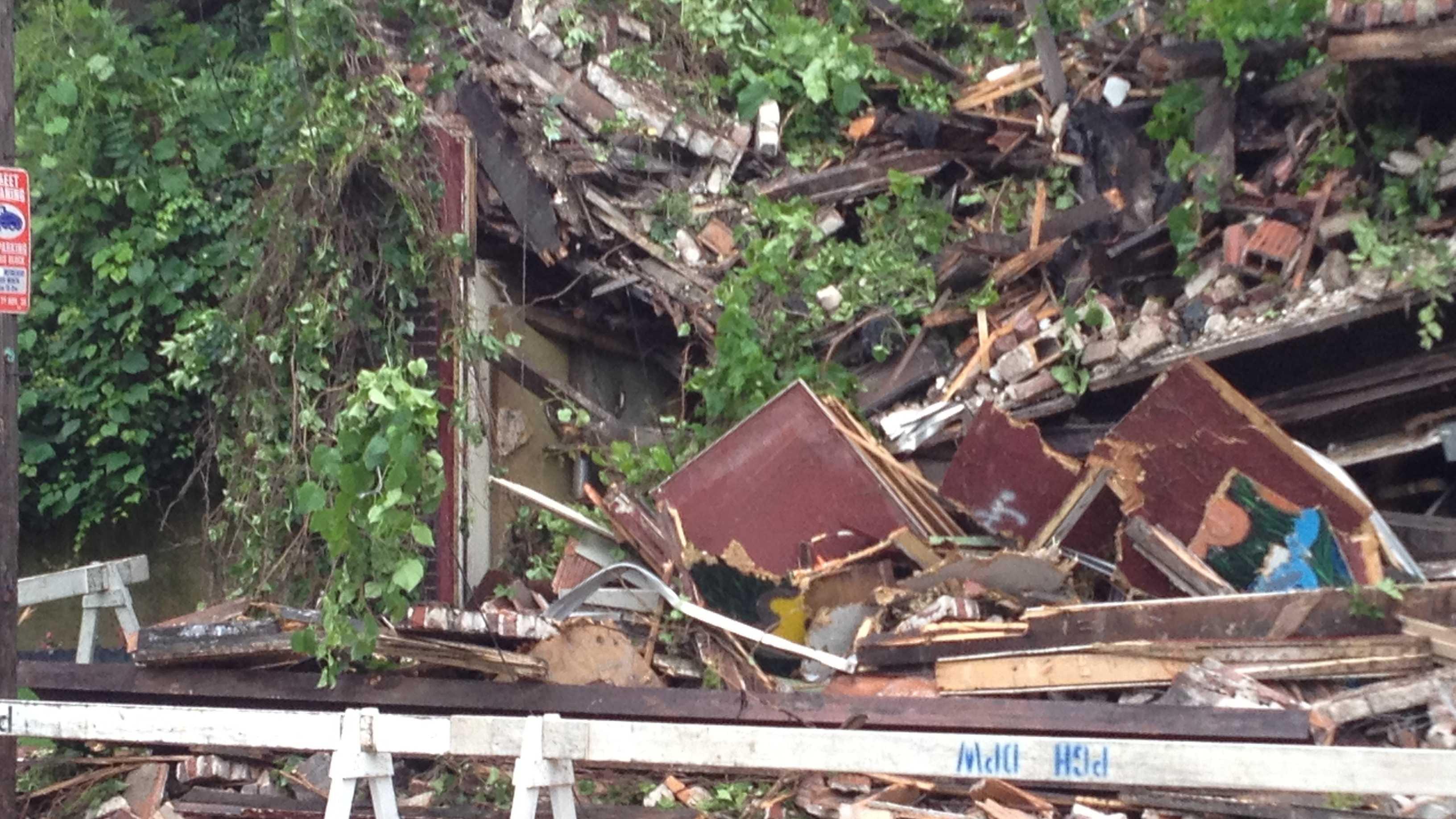 Sheraden building collapse