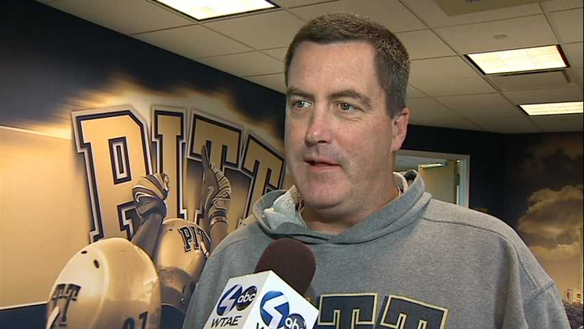 Action Sports Justin Rose talks one on one with University of Pittsburgh's Football Coach Paul Chryst on their official joining of the ACC.