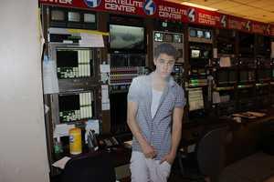 Justin in the Satellite Center