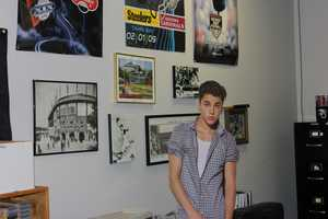 Justin in the Action Sports Office