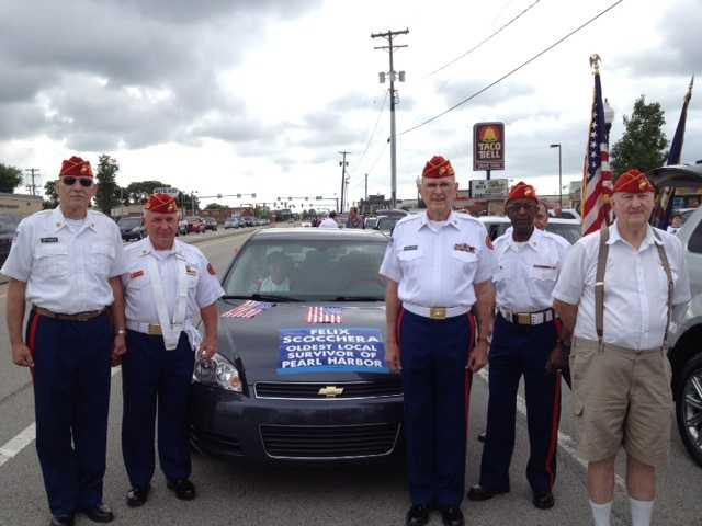 US Military Veterans at the 2013 Monroeville 4th of July Parade