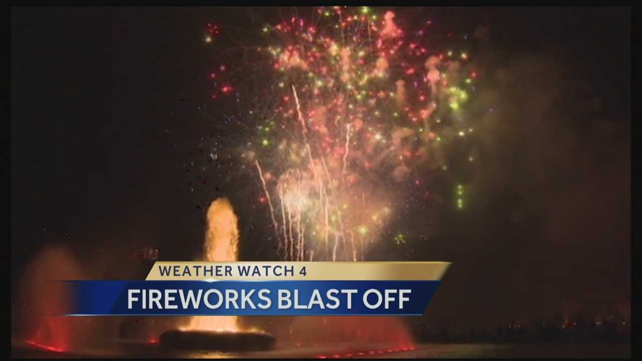 4th of July Fireworks Blast Off