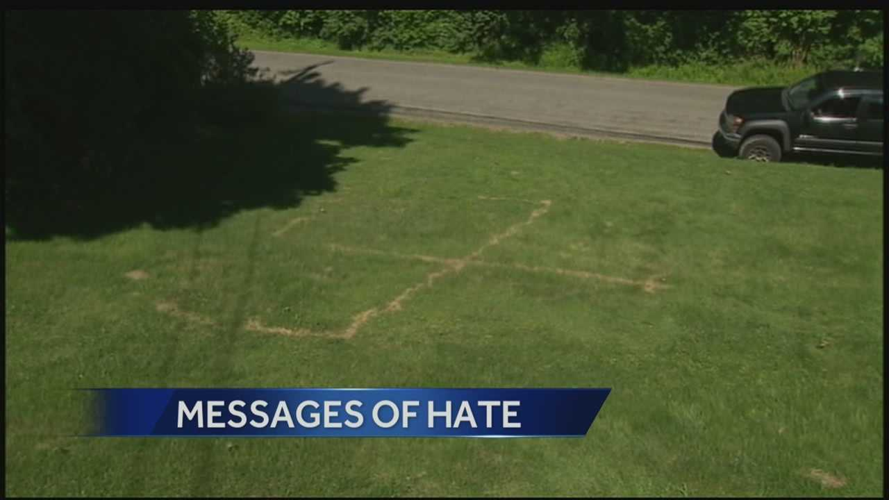 A family lives in fear as repeated threats of violence and hate on their property. Action News' Mike Clark has the latest from Sarbar, PA.