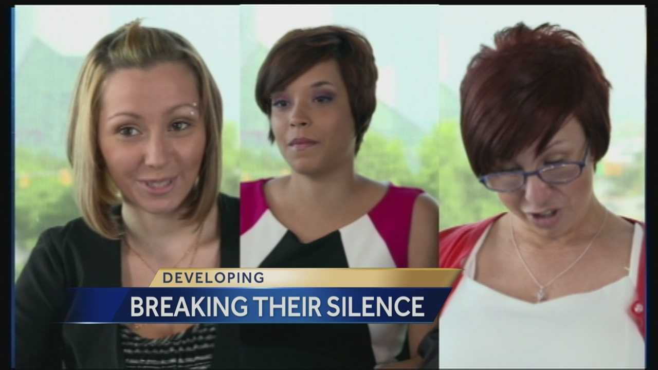 Three women held captive in a home for over a decade finally break their silence after being rescued in Cleveland more than months ago.