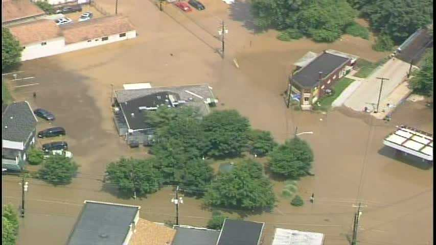 Oakdale flooding