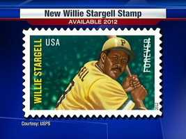 Baseball Hall of Famer Willie Stargell was a slugger on the World Series teams of the 1970s in Pittsburgh.