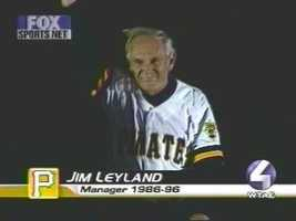 Jim Leyland manages the Detroit Tigers now, but he still lives in Mt. Lebanon.