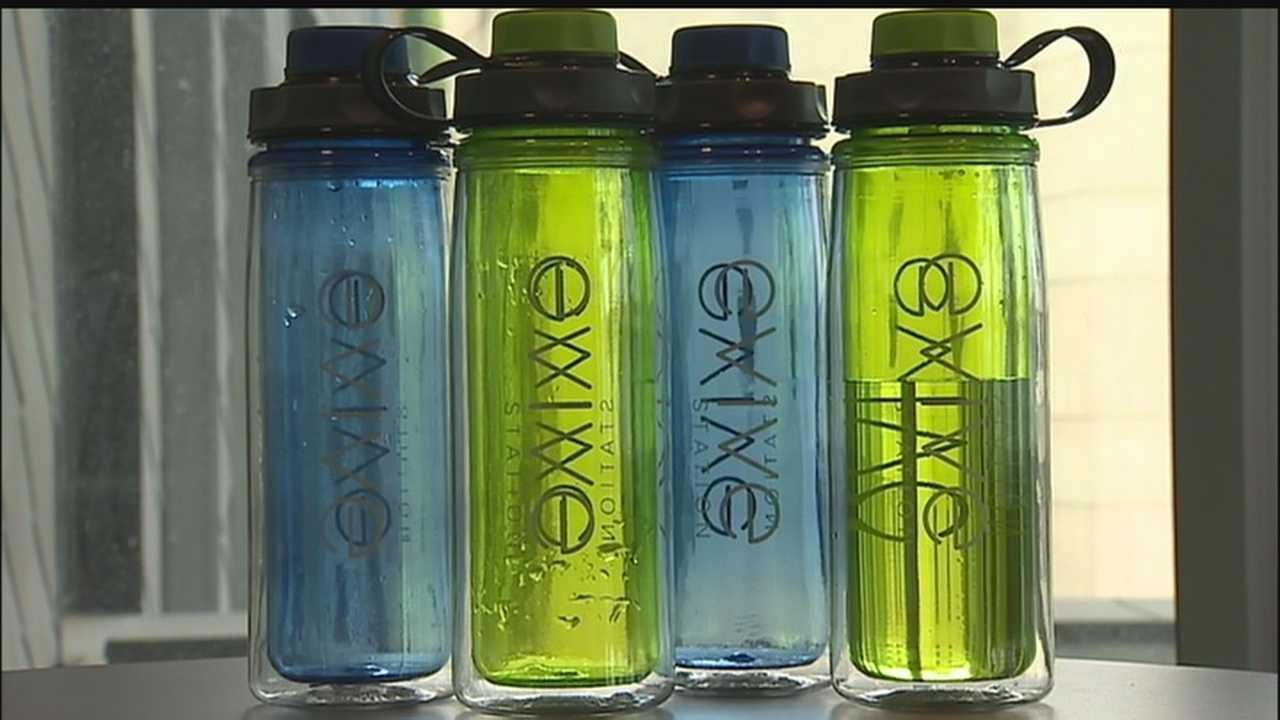 Evive Station water bottles