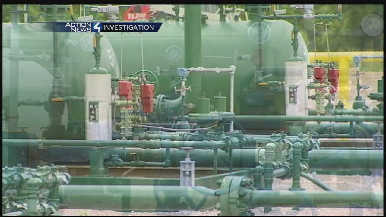 Properties with drilling still getting Clean & Green tax break