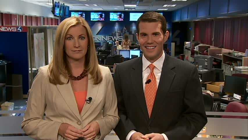 Channel 4 Action News weekend anchors Shannon Perrine and Matt Belanger